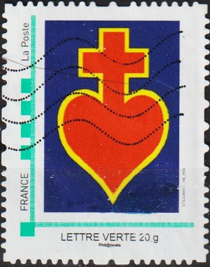 Personalized Stamping Service Sacred Heart Stamp