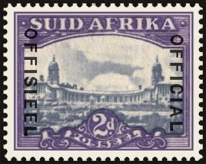 Stamp, Union Building, Pretoria, South Africa,  , Buildings, Government Buildings, Townscapes / City Views