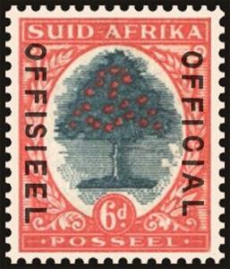 Stamp, Orange Tree (Citrus sininsis), South Africa,  , Fruits, Plants (Flora), Trees