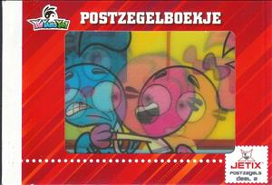 Booklet, Jetix: Yin Yang Yo, Netherlands - Personalized stamps,