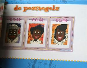 Souvenir Sheet, Jetix: The club of Sinterklaas, Netherlands - Personalized stamps,