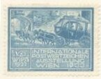 Stamp, International Flight Exhibition Seals, Cinderellas,