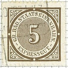 Stamp, State Railway - Express Goods, Switzerland,
