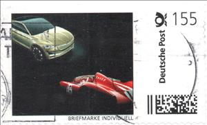 Stamp, Car and Racecar, Personalized & Private Mail Stamps,  , Cars, Racing Cars