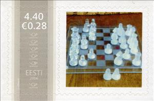 Stamp, Male, Personalized & Private Mail Stamps,  , Chess