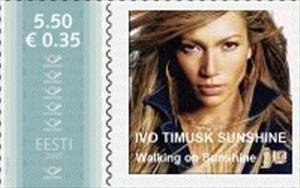 Stamp, Ivo Timusk sunshine, Personalized & Private Mail Stamps,  , Women