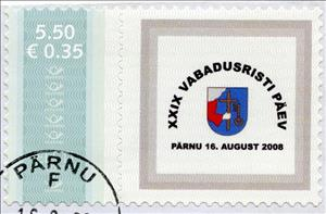 Stamp, XXIX Vabadusristi päev, Personalized & Private Mail Stamps,  , Independency Activists