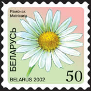 Definitive stamp Camomile (self-adhesive)
