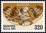 Stamp Europa 2004 – Mushrooming