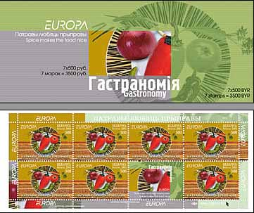 Booklet Europa 2005 – Spice makes the food nice