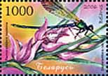 Stamp Orchids of Belarus – Red Helleborine