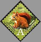 Definitive stamp Red squirrel (self-adhesive)