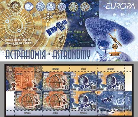 Booklet Europa 2009 - Astronomy