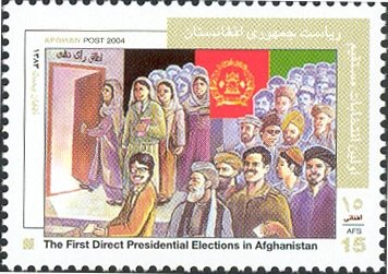 First direct Presidential election in Afghanistan