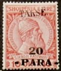No. 43 Overprinted with Takse