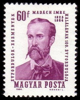 Imre Madách (1823-1864) playwright