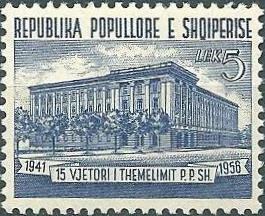 Building of the Central Committee of the Albanian Labour Par