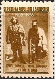 Cerciz Topulli and Mihal Grameno, Freedom Fighters
