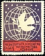 Globe and Dove of Peace