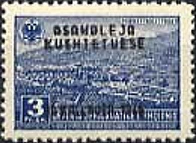 No. 384 with Overprint