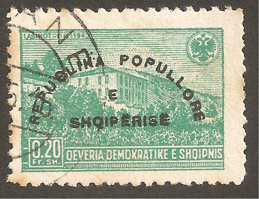 Reissue of No. 379 with Overprint