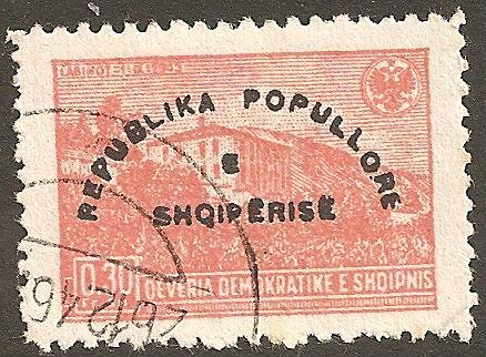 Reissue of No. 380 with Overprint