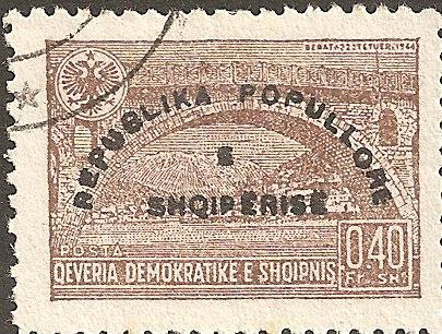 Reissue of No. 381 with Overprint