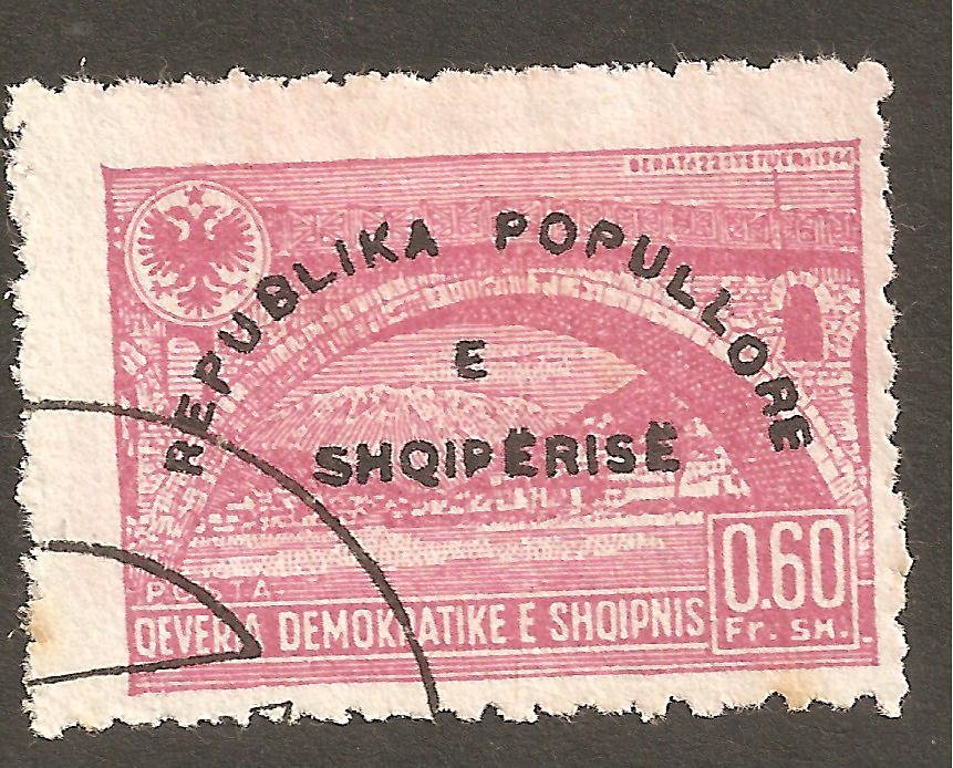 Reissue of No. 382 with Overprint