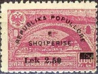 No. 404 with Overprint