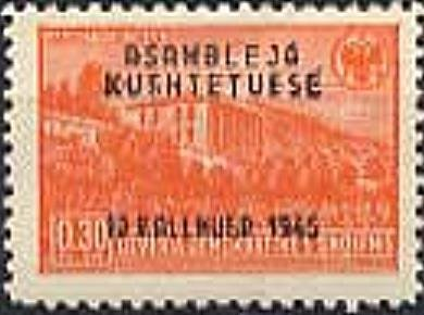 No. 380 with Overprint
