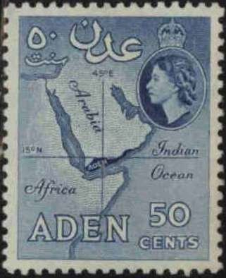 Map of Aden