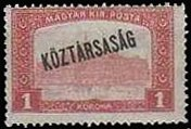 Parliament building with 'Republic' overprint