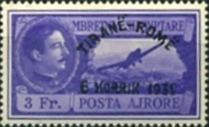 No.234 with Overprint
