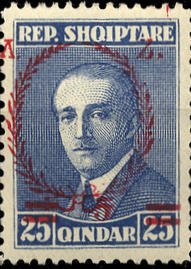 As No. 156 with Overprint