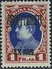 No. 140 with Overprint