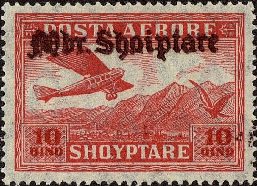 No. 127 with redbrown Overprint
