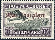 No. 130 with redbrown Overprint