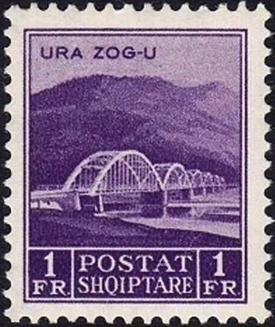Ahmet Zog Bridge over the Mat