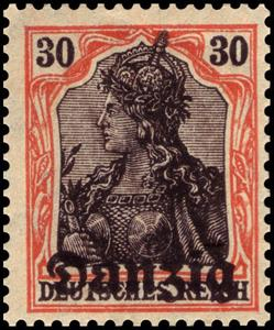 Stamp, Germania, Free City of Danzig,