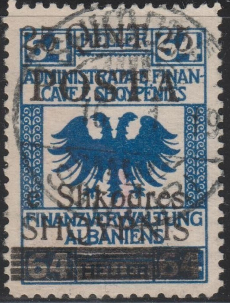 Revenues of the Austrian Administration with hollow Eagle dr
