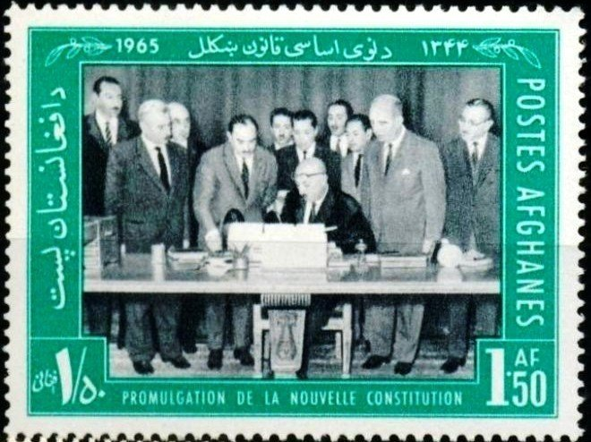 Signing of New Constitution