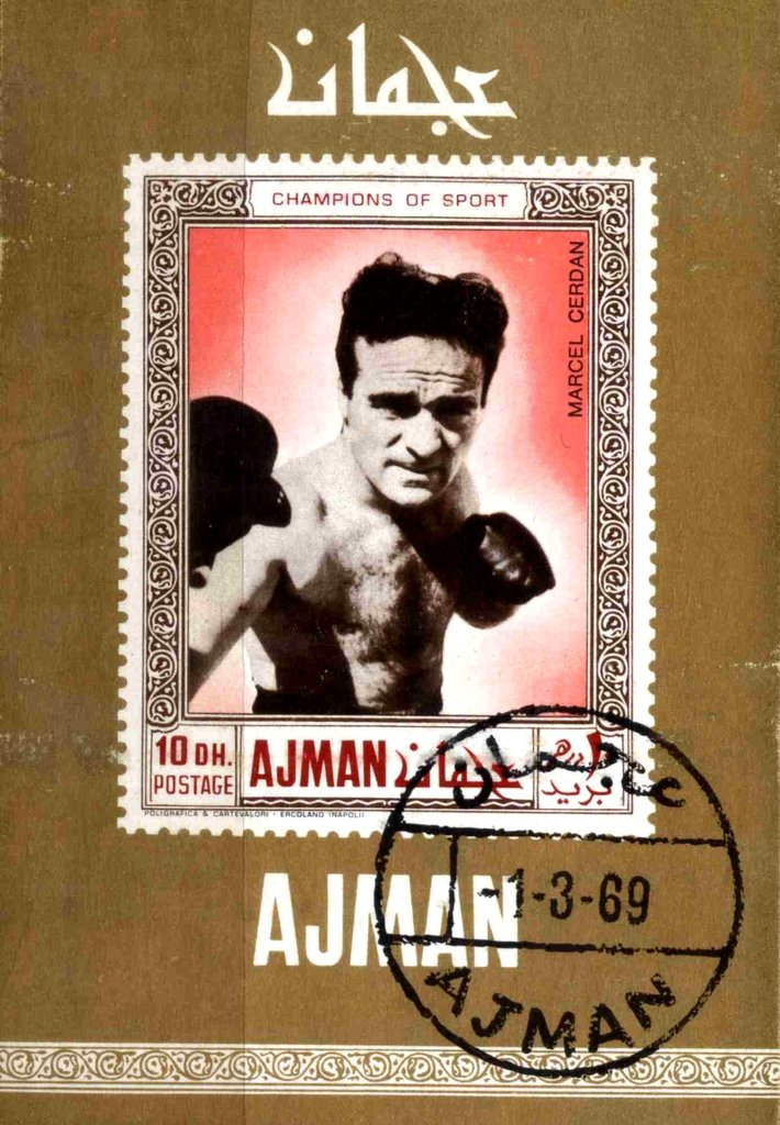 Marcel Cerdan (1916-1949), welter- and middelweight, France