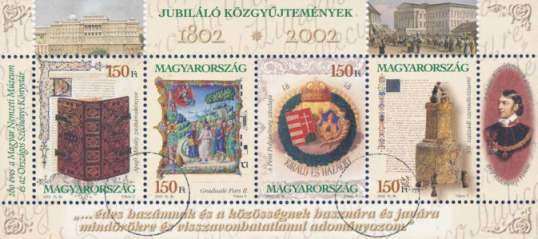 200th anniv. of National Museum and Széchenyi Library