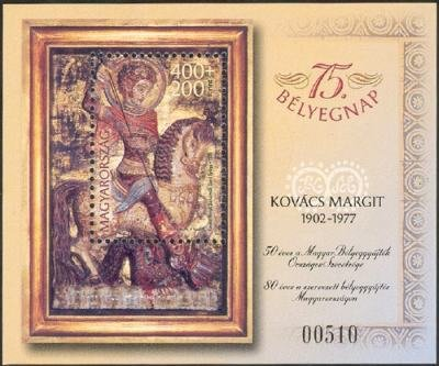 75th Stamp Day - St George, by Margit Kovács