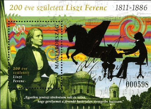 Ferenc Liszt was born 200 years ago