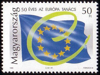 Council of Europe, 50th anniv.
