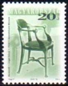 Chair by Károly Lingel, 1915