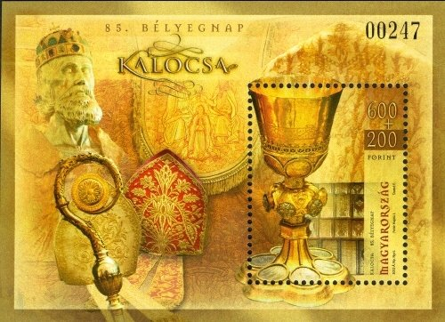 Objects from the Archbishop's Treasury in Kalocsa