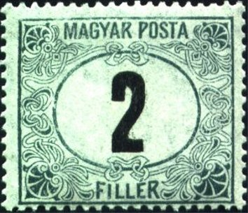 "Inscription ""Magyar Posta"""