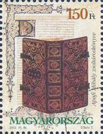 Stamp, Mihály Apafi psalter, 1686, Hungary,  , Books, Museums
